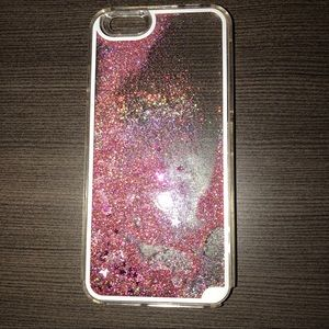 Accessories - Glitter water iPhone 6/6s phone case